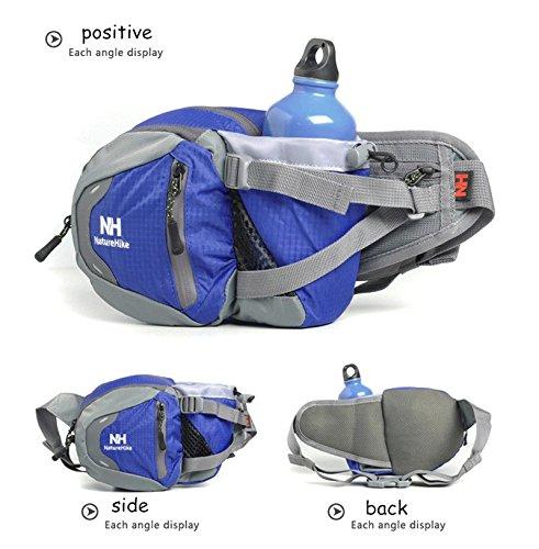 POINT BREAK Prevent Water Kettle Pocket Multi functional Sports Leisure BaoHu Bales Running Male Ms NH15Y003 B