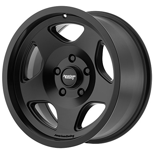 Samurai Suzuki Rims (American Racing AR923 15x8 Black Wheel / Rim 5x5.5 with a -19mm Offset and a 108.00 Hub Bore. Partnumber AR92358055719N)