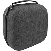 Headphones Case for AKG K340, K240, K242, K271, K272, K141, K142, K121 / Hard Shell Large Carrying Case / Headset Travel Bag with Space for Cable, Earpads, Amplifier and Accessories
