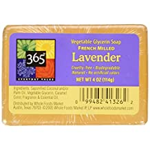 365 Everyday Value Lavender Vegetable Glycerin Soap, 4 oz