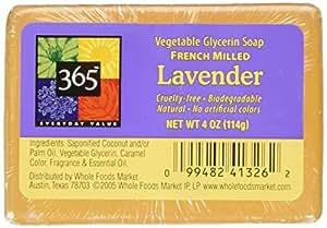 365 Everyday Value Lavender Vegetable Glycerin Soap, 4 oz