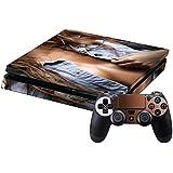 SONY 新型PS4 スリム 薄型 プレイステーション専用 スキンシール 裏表 全面セット カバー ケース 保護 フィルム ステッカー デコ アクセサリー 写真・風景 ラグジュアリー 人物 写真 003590