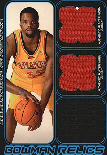2006-07 Bowman Relics Dual #SW Shelden Williams Jersey /249 - - Sw 249
