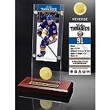 "NHL New York Islanders John Tavares Ticket & Desk Top Acrylic Coin Photo Mint, Bronze, 12"" x 6"" x 7"""