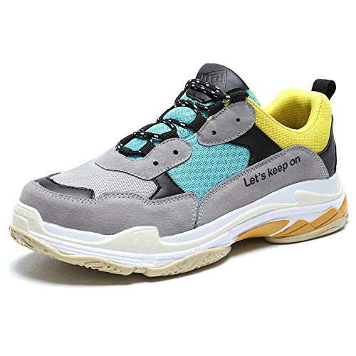 803yellowgreen Zapatos Al Primavera 45 Adultos Calzado Zapatillas Hombres Wddgpzydx Inferiores De Marca Masculina Grande Transpirable Desgaste Moda 46 Para Resistentes Otoño Casual Tamaño Deporte P51gnAtwqx
