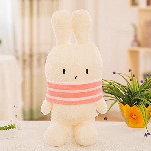 Christmas Story Bunny Pajamas Child Costume (YuanShiming Stuffed Bunny Dolls Plush Rabbit Toys for Kids (40cm, Pink))