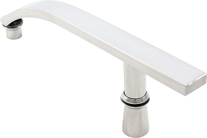Tirador para mampara de ducha | 200 mm (20 cm) orificio a orificio: Amazon.es: Bricolaje y herramientas