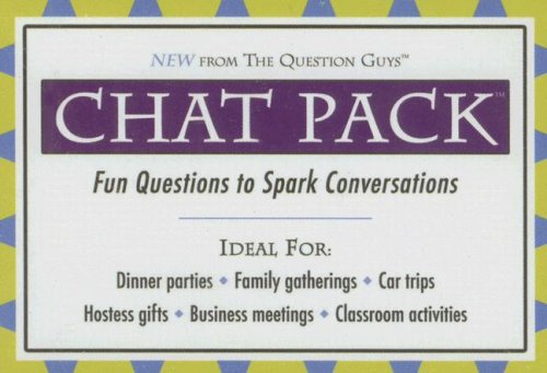 Chat Pack: Fun Questions to Spark Conversations ()