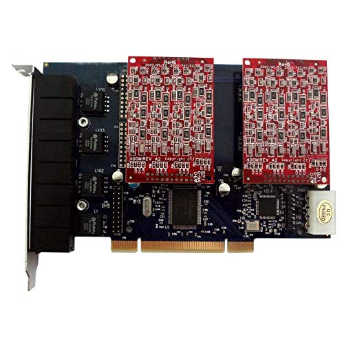 Used, FXO Voice Board with 8 FXO Ports,PCI,Compatible with for sale  Delivered anywhere in USA