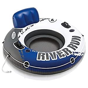 Intex River Run I Sport Lounge, Inflatable Water Float, 53″ Diameter