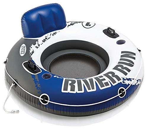 - Intex River Run I Sport Lounge, Inflatable Water Float, 53