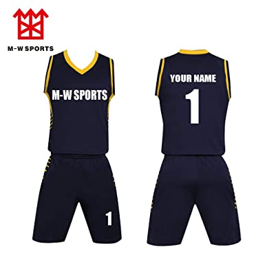 68e8f72d514 Amazon.com  Custom Basketball Jersey Team