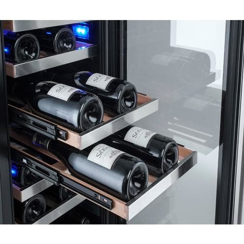 Avallon AWC151DZRH 23 Bottle 15'' Dual Zone Built-In Wine Cooler - Right Hinge
