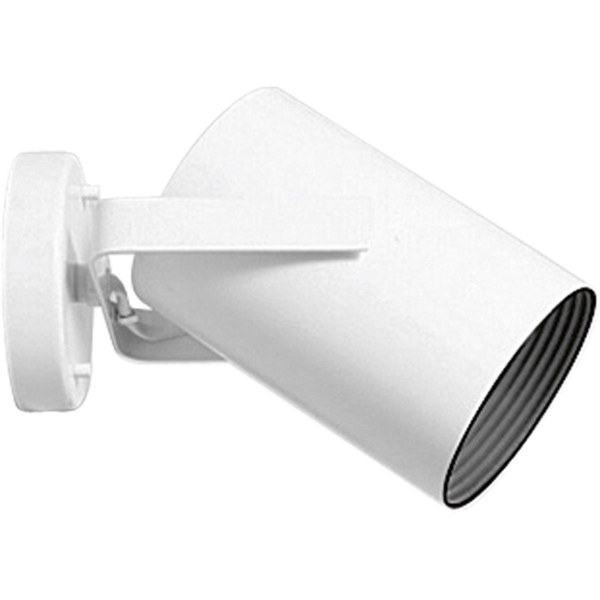 amazoncom progress lighting p6398 30 adjustable wall or ceiling cylinder with black baffle white home improvement adjustable lighting fixtures