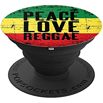 separation shoes 6fff5 71e9b African Rasta Flag Colors Jamaican Reggae - PopSockets Grip and Stand for  Phones and Tablets