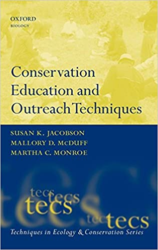 Conservation Education and Outreach Techniques (Techniques in Ecology & Conservation) 9780198567721 Higher Education Textbooks at amazon