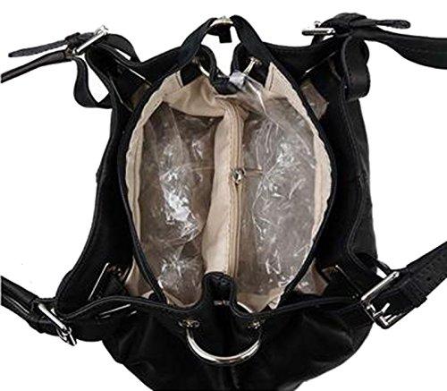 b981e28caced8 ... Tasche Ledertasche Sa-Lucca echt Leder Handtasche Damentasche 2508-s  Henkeltasche