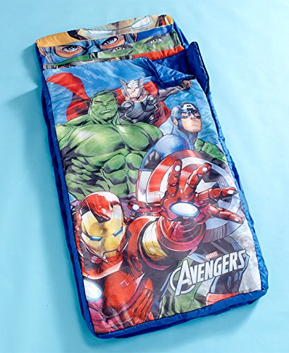 Licensed Inflatable Avengers Sleeping Bags by GetSet2Save