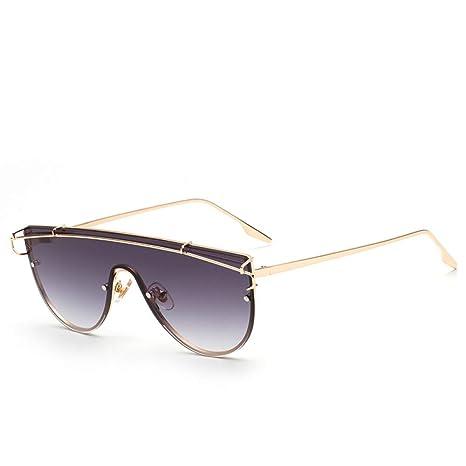 Yangjing-hl Gafas de Sol con Montura en Polvo Transparente ...