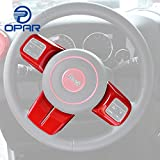 Opar Red 2007 - 2016 Jeep Wrangler Steering Wheel Trim - Set
