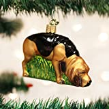 Old World Christmas Bloodhound Glass Blown Ornament