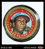 1971 Topps Coins # 48 Bob Oliver Kansas City Royals (Baseball Card) Dean's Cards 3 - VG Royals