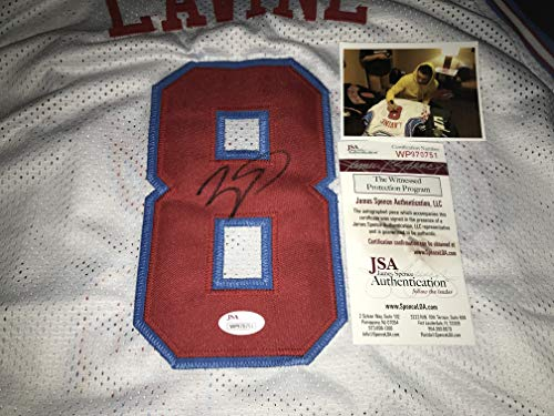 Zach LaVine Autographed Signed City Custom Jersey JSA, used for sale  Delivered anywhere in USA