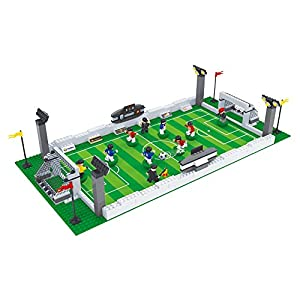 BRICK-LAND Soccer Game Building Bricks Toy Set with Football Field and 10 Players, 381 Piece - 51Sb0XLZRJL - BRICK-LAND Soccer Game Building Bricks Toy Set with Football Field and 10 Players, 381 Piece.