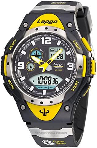 Boy100U.S. waterproofing/Outdoor sports/Timing/Luminous/Multifunctional electronic watches-E