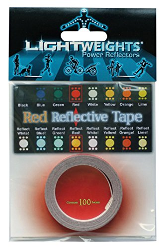 Lightweights Stealth Reflective Tape Red 100