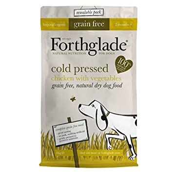 Forthglade 100 Percent Natural Dog Food Cold Pressed Dry Dog Food