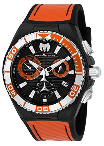 Technomarine Men's 'Cruise' Swiss Quartz Stainless Steel and Silicone Casual Watch, Color:Two Tone (Model: TM-115178)