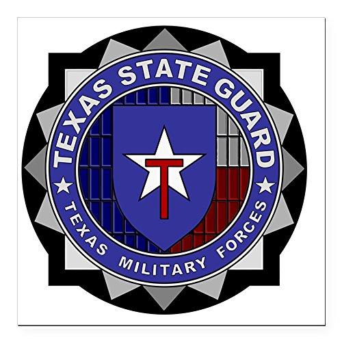 State Logo Square - CafePress - TXSG logo Square Car Magnet 3