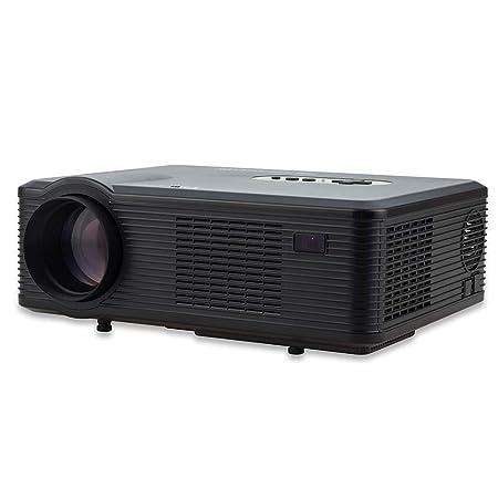 Proyector, Full-HD 3000 lúmenes Compatible 1080P Proyector de ...