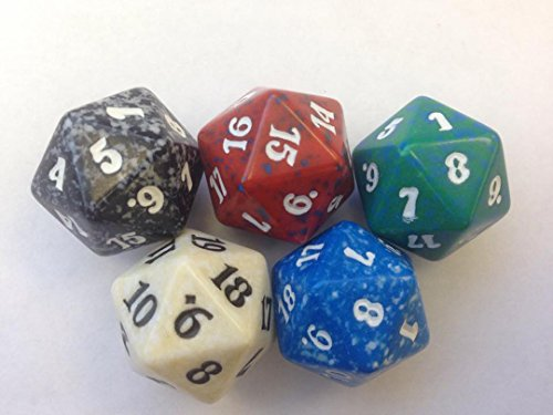 Dice Of Life Game (Magic: The Gathering Spindown (Set of Five) MTG)