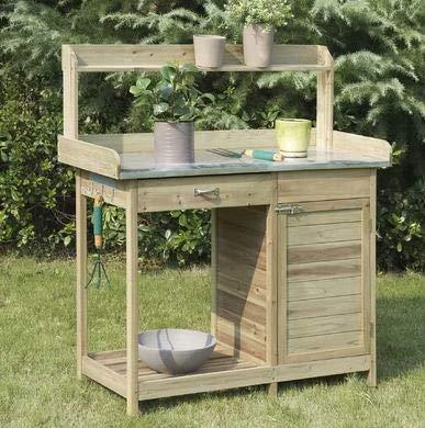 Pleasant Amazon Com Erra Natural Fir Wood With Cabinet Potting Creativecarmelina Interior Chair Design Creativecarmelinacom