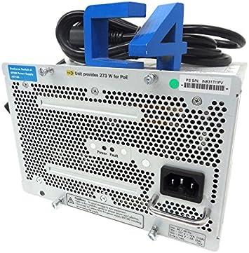 HP J8713A Procurve Power Supply for 5406zl 5412zl ZL switch 220V with Power Cord