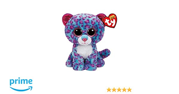 525c4a82862 Amazon.com  Ty Beanie Boos Dreamer - Leopard (Justice Exclusive)  Toys    Games