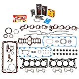 Domestic Gaskets Engine Rering Kit FSBRR8-21115 00-04 Ford E150 E250 F150 Excursion 5.4 SOHC 16V Full Gasket Set, Standard Size Main Rod Bearings, Standard Size Piston Rings