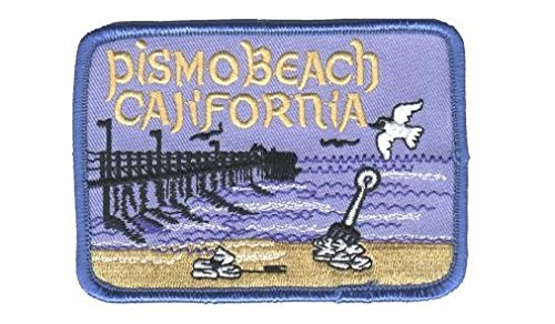 Pismo Beach California Patch (Iron - Pismo Beach Pismo Beach