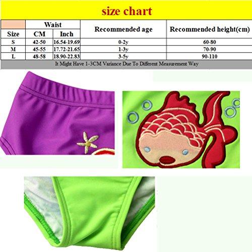 Zhhlinyuan Premium Multi-color Cute Baby Boys Girl Kids Swimwear Swimming Trunks Swim Shorts Green