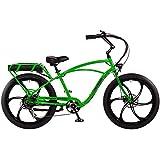 "Pedego Interceptor 26"" Classic Lime Green with Mag Wheels 48V 15Ah"