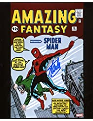 Stan Lee Amazing Fantasy 15 First Spiderman Signed/Autographed 8x10 Glossy Photo. Includes Fanexpo Certificate of Authenticity and Proof of signing. Entertainment Autograph Original.