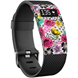 TreasureMax USA Brand for Fitbit Charge/Fitbit Charge HR Vibrant Soft Slim Designer Sleeve/Band Cover/Protective Case (ONLY for Fitbit Charge/Fitbit Charge HR, Not Include Fitness Tracker or Band )