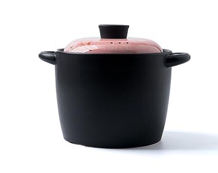 estofado Cacerola Cazuela Cerámica Inicio Alta Temperatura Pintado a Mano Amplia Creativa Salud Sopa Pot Pot