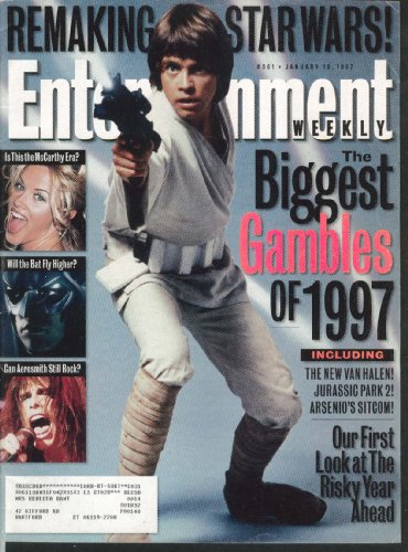 ENTERTAINMENT WEEKLY Star Wars Jenny McCarthy Aerosmith Van Halen 1/10 1997 (Aerosmith Van)