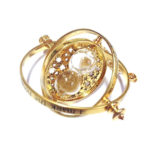 Harry Potter - Hermione 's Time Turner Granger Rotating Hour Glass Necklace