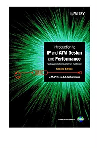 Introduction To Atm Ip Design And Performance With Applicationsysis Software 2nd Edition