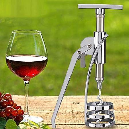 WWWANG La Botella de Vino del abrelatas del hogar Decanter Seahorse Cuchillo Vino del vacío Recuerdos tapón Almacenamiento pequeño, práctico y portátil (Color : A2)