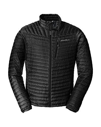Eddie Bauer Men's MicroTherm StormDown Jacket, Black Regular S ()